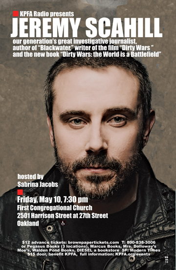 Dirty Wars - Jeremy Scahill - May 2013
