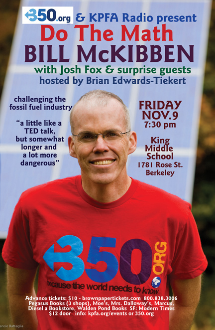 Do the Math - Bill McKibben in Berkeley - Nov 2011