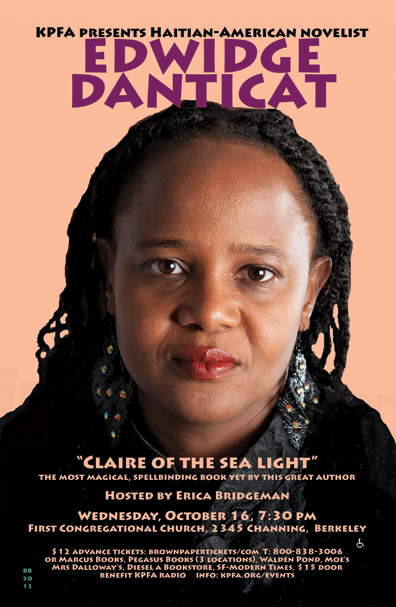 Edwidge Danticat.- Oct 2013