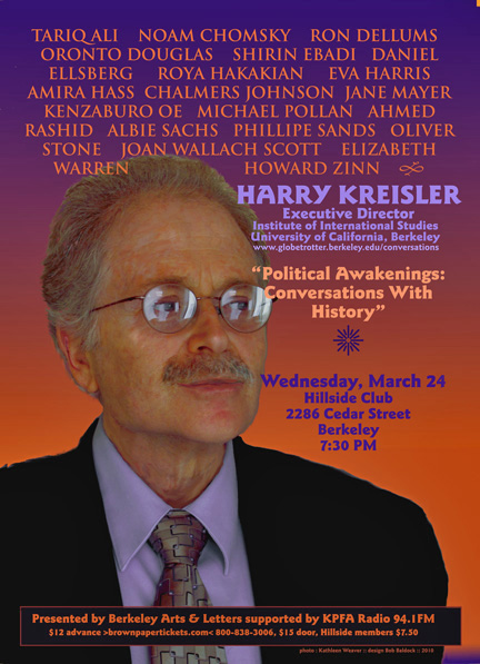 Harry Kreisler in Berkeley - March 2010