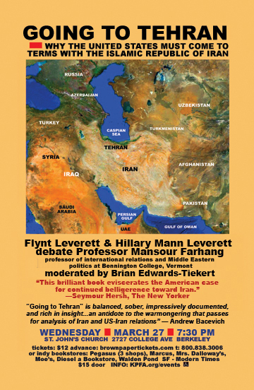 Iran - Flynt and Hillary Leveretts - March 2013