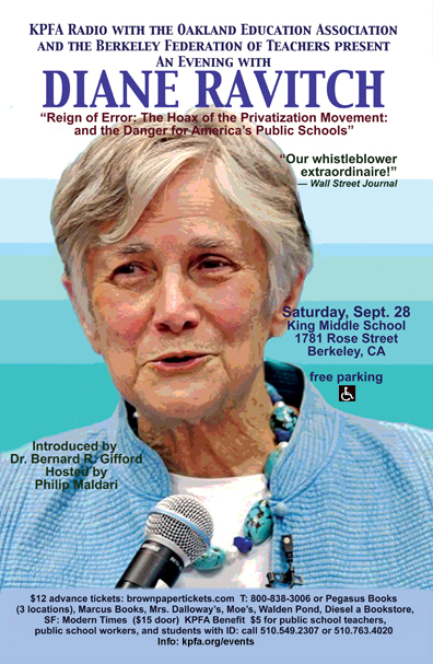 Reign of Error - Diane Ravitch - Sept 2013