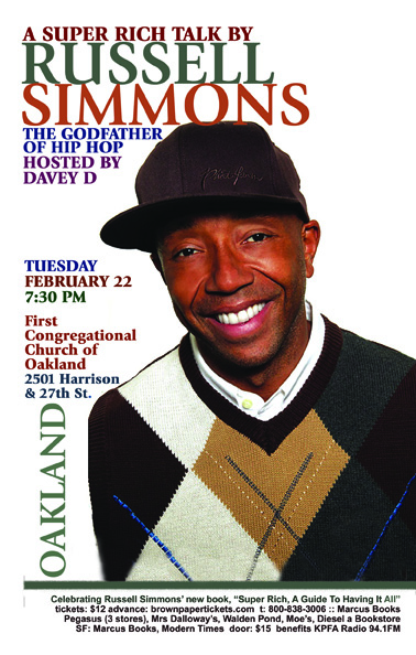 Super Rich - Russell Simmons in Oakland - Feb 2010