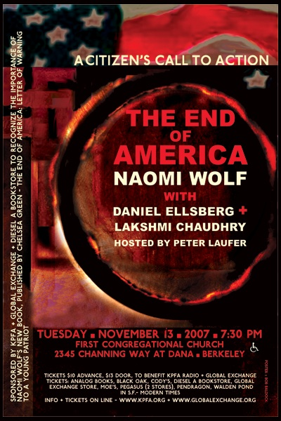 The End of America - Naomi Wolf - Nov 2007